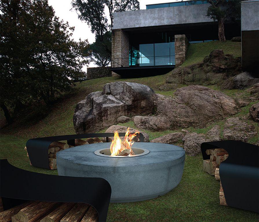 atry home chemin es et po les 06 fire pit et brasero design pour jardin et terrasse french. Black Bedroom Furniture Sets. Home Design Ideas